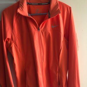 Nike sportswear zip up jacket salmon/pink color